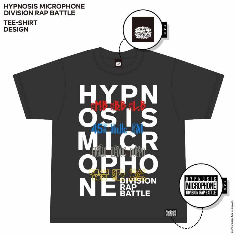 Tシャツ BLACK ヒプノシスマイク