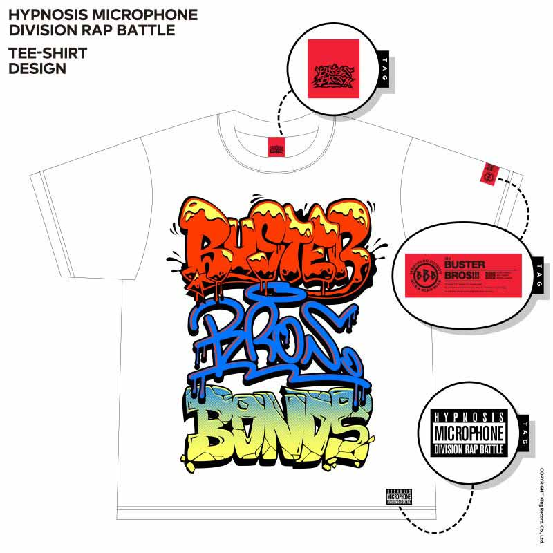 Tシャツ イケブクロ・ディビジョン/Buster Bros!!!