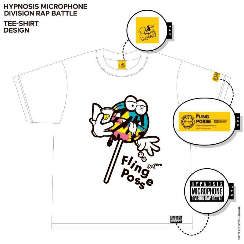 Tシャツ シブヤ・ディビジョン/Fling Posse